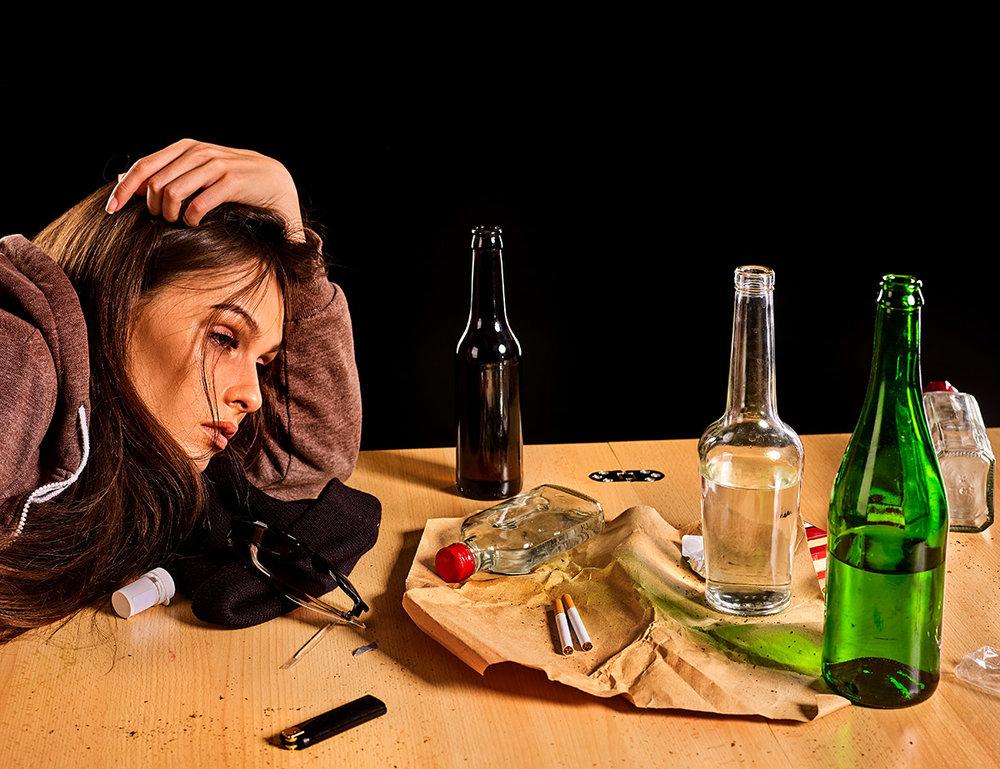 Женское пьянство – серьезная социальная проблема